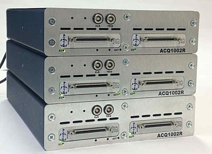 3 x 64 channel compact system